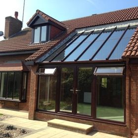 new roof windows and conservatory