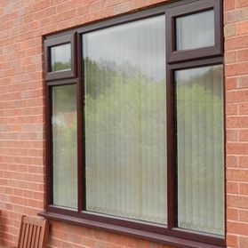 new window fitting brown